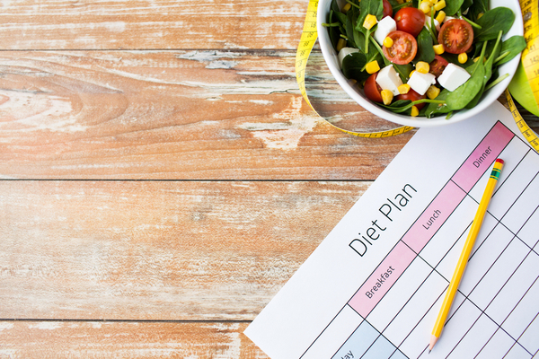 サラダとダイエット計画
