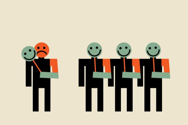 仮面を持つ人々