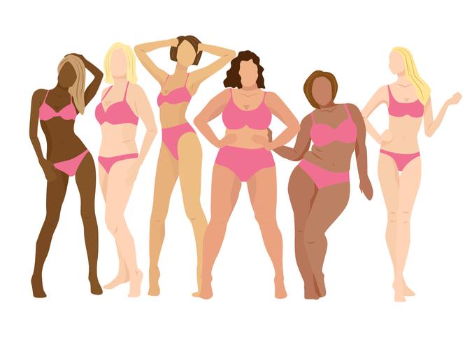 様々な人種の女性たち