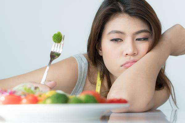 野菜を眺める